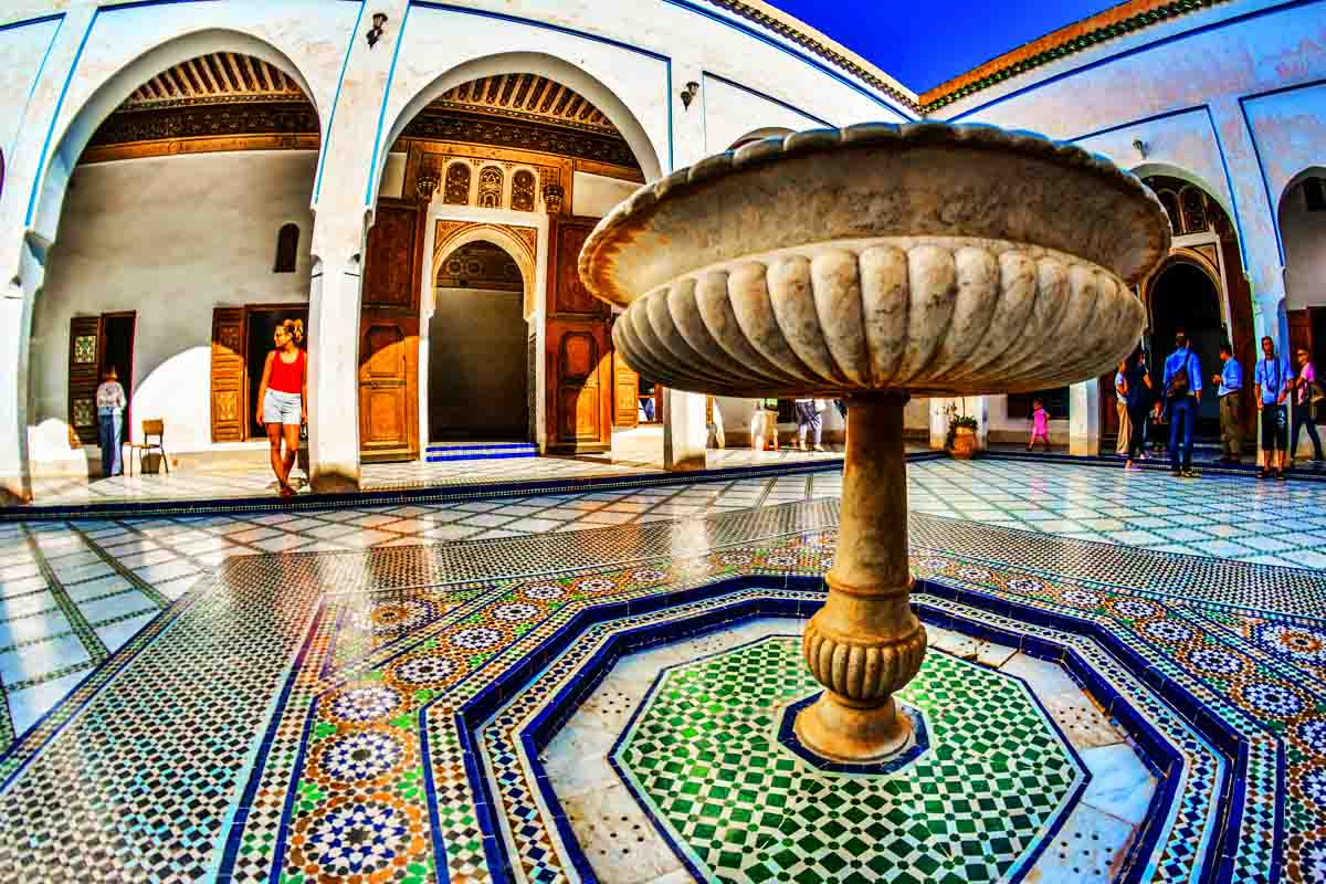 The history of the Bahia Palace in Marrakech