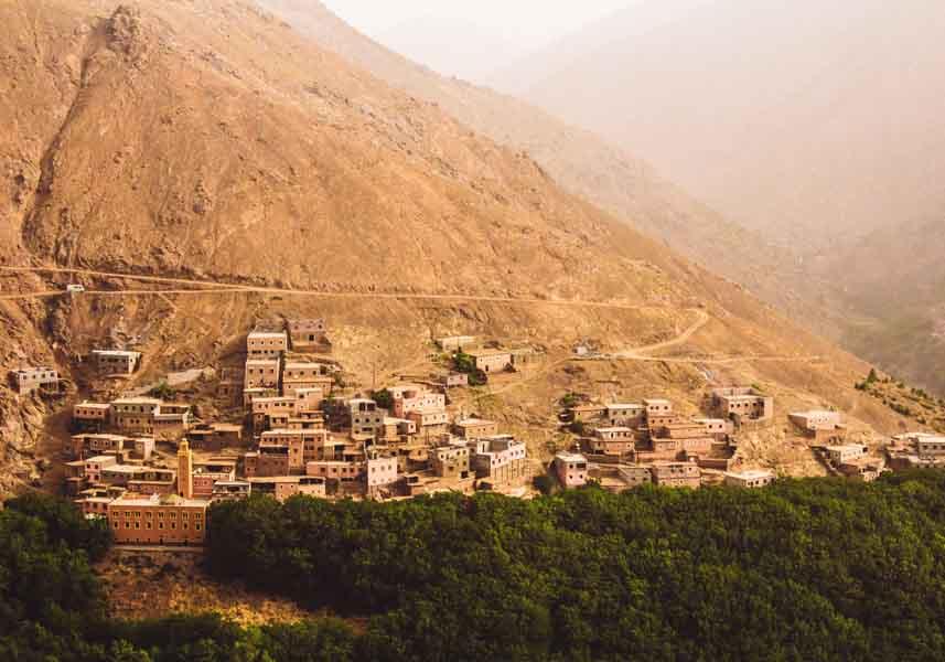 Imlil Trekking mountain Toubkal