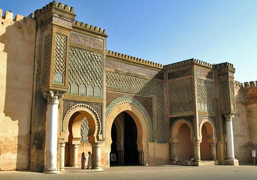 bab al mansour Meknes
