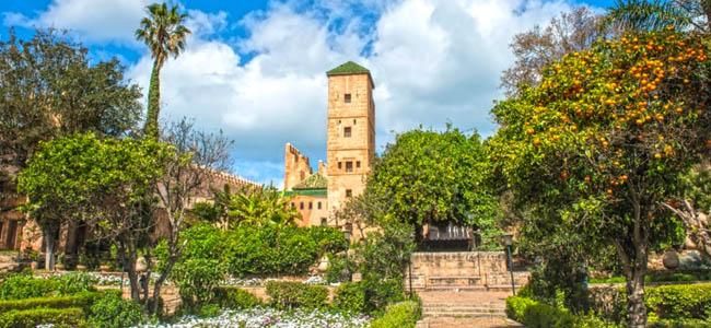 Gardens of Oudayas , Rabat Morocco