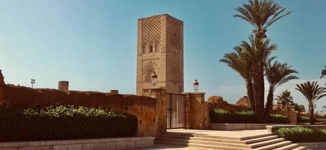 Hassan Tower, Rabat Morocco