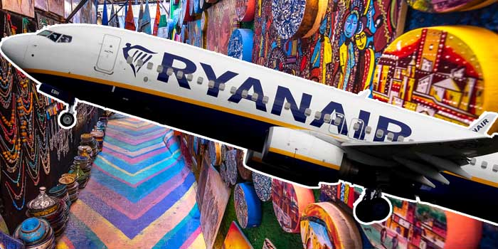 Ryanair - New Routes to and from Morocco